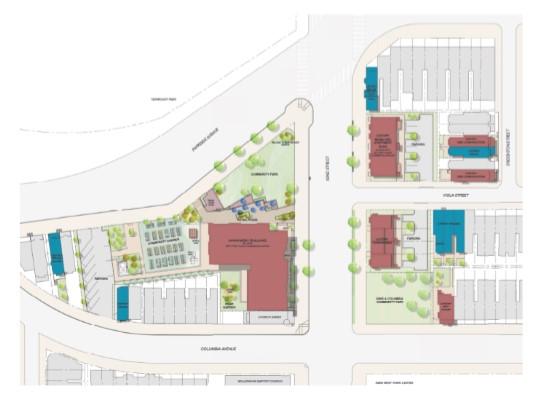 Centennial Village Site Plan